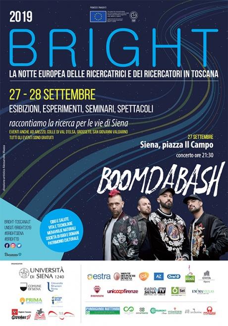 """Bright: La Notte europea delle Ricercatrici e dei Ricercatori in Toscana"""""""
